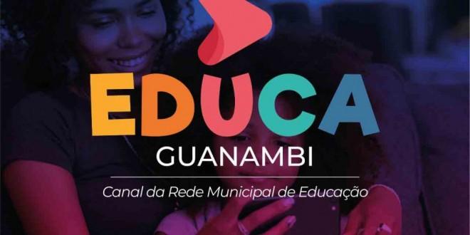 Criatividade e inovação: Secretaria Municipal de Educação lança o canal Educa Guanambi