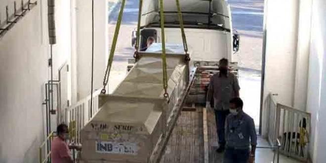 Indústrias Nucleares do Brasil (INB) finaliza entrega da 26ª Recarga de Angra 1