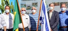 Embaixador de Israel no Brasil conhece projetos e discute parcerias em visita à Codevasf em Petrolina