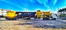 Prefeitura de Guanambi recebe Usina de Asfalto para acelerar programa da pavimentação