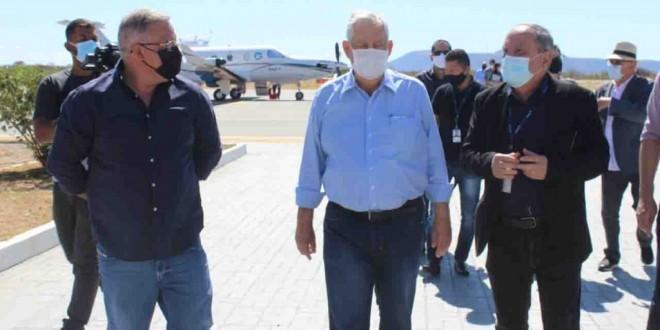 Presidente da Azul faz visita técnica a Guanambi e anuncia implantação de linha aérea até setembro