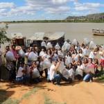 Desde o início da parceria, em 2014, a Codevasf distribuiu 1,1 milhão de alevinos produzidos nas estações da Bahia Pesca. Os alevinos foram entregues a associações de produtores locais ou inseridos diretamente em locais públicos. Foto: divulgação