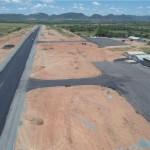 O afastamento da cerca de proteção do entorno do aeroporto está 3 metros menor que o exigido (75m)