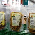 Abacaxi, banana e jaca desidratadas podem ser encontradas nos supermercados da rede Walmart, na região do Iguatemi e nos bairros do Jardim Armação, Pituba e Chame-Chame. (Foto: SDR / divulgação)