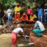 Foram aplicados, neste período, R$ 800 mil na recuperação direta de 55 nascentes de água, além de 87 diagnosticadas e 210 identificadas para futuras ações de preservação em dez municípios do Oeste da Bahia.
