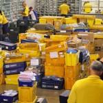 A empresa vai intensificar a entrega trabalhando inclusive nos finais de semana, até normalizar o fluxo de postagens. até normlzarCrédito: Breno Fortes/CB/D.A Press. Brasil. Brasília - DF.