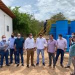 Sistema de abastecimento levará água potável a população de projeto de irrigação no Médio São Francisco baiano. foto: divulgação / Codevasf.