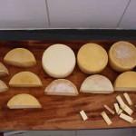 Por serem artesanais, os queijos da região do Serro são únicos e apresentam pequenas variações na produção nas diferentes propriedades. Foto: Juliana Carneiro / divulgação