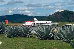 Movimentação no Aeroporto de Guanambi tem intensificado nos últimos dias. Foto: divulgação/PMG