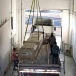 Transporte de elemento combustível na usina de Angra. Foto: divulgação