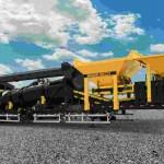 O equipamento tem capacidade para produzir de 100 a 120 toneladas de asfalto por hora. Foto: divulgação / PMG