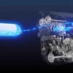 O propulsor foi instalado em um veículo de corrida baseado no Corolla Sport, que estará na Corrida de 24 horas Super Taikyu Series 2021, em maio, no Japão. Imagem: motor de hidrogênio / divulgação